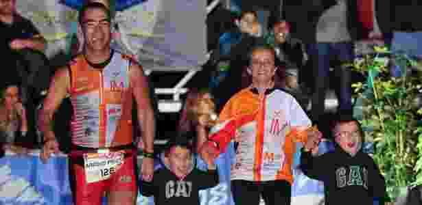 """Arroyo também já completou 5 """"Meio Ironman"""" e 4 maratonas - Reprodução"""