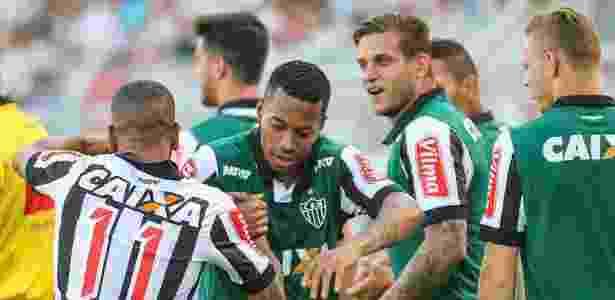 Robinho passou 30 dias como reserva do Atlético. Foram sete jogos nesse período - Bruno Cantini/Clube Atlético Mineiro