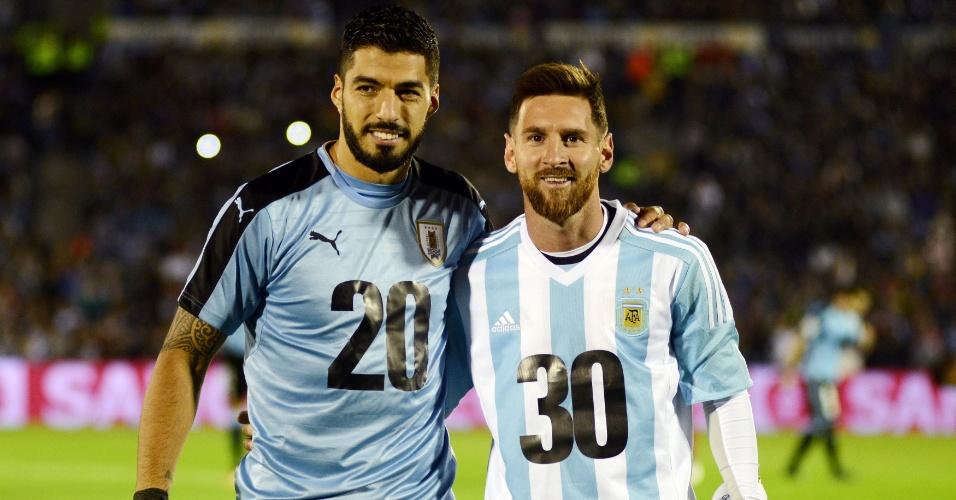 Messi e Suárez fazem campanha por candidatura conjunta de Argentina e Uruguai para a Copa de 2030