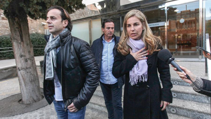 Josep Santacana (à esquerda) e Arantxa Sánchez Vicario se divorciaram - Miquel Benitez/Getty Images