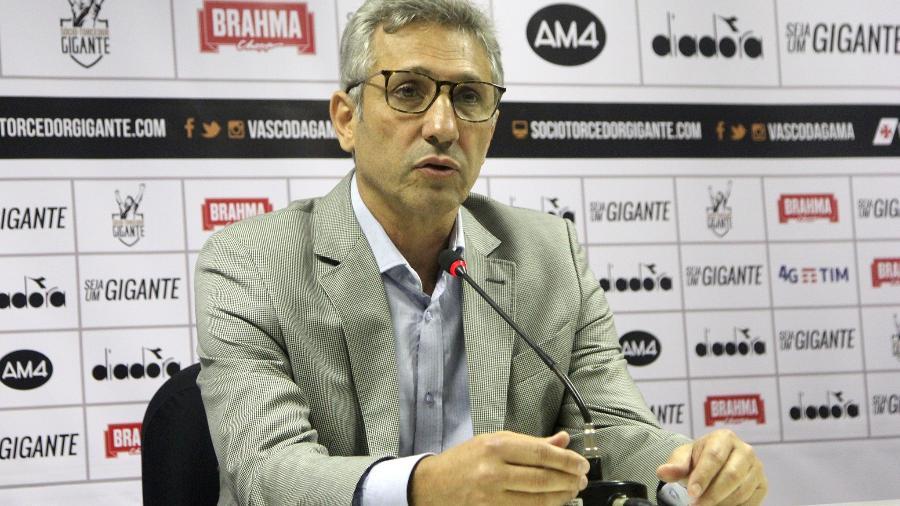 Presidente Alexandre Campello fez duras críticas ao árbitro de Vasco x Grêmio - Paulo Fernandes / Flickr do Vasco