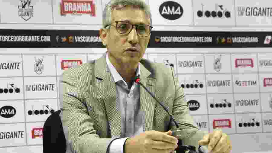 Alexandre Campello, em janeiro, teve de dar explicações ao Conselho Deliberativo sobre a transação - Paulo Fernandes / Flickr do Vasco