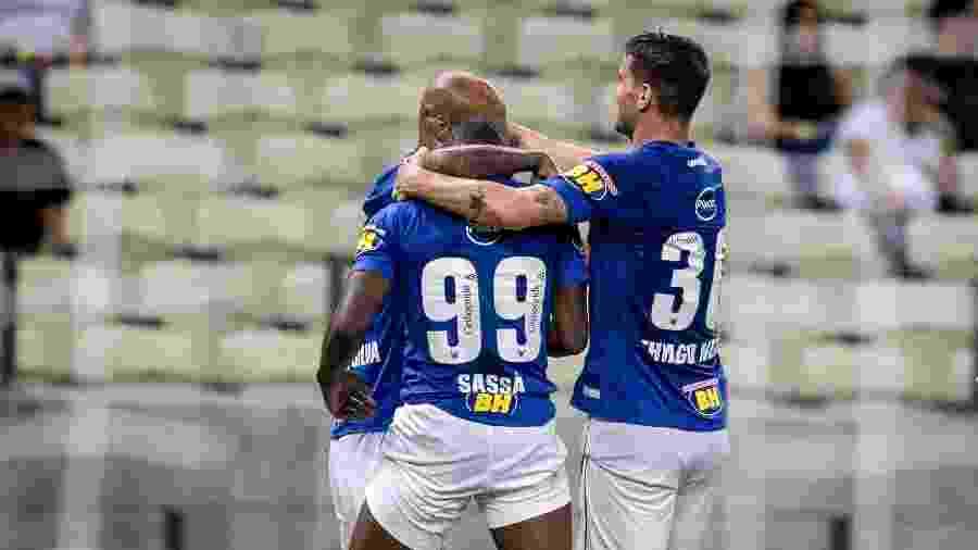 Última vitória celeste fora de casa foi há mais de um ano, com gol de Sassá diante do Ceará, no Castelão - Stephan Eilert/AGIF