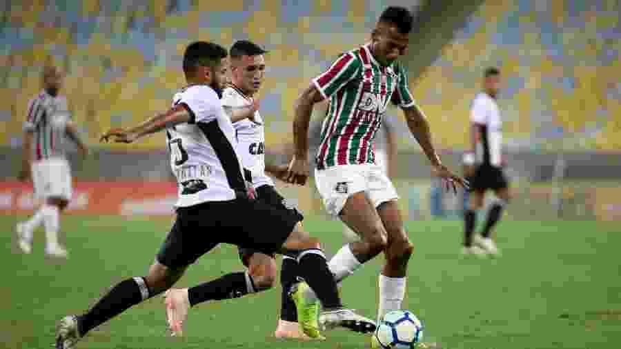 Fluminense e Ceará se enfrentam hoje pela 10ª rodada do Campeonato Brasileiro - LUCAS MERÇON / FLUMINENSE F.C.