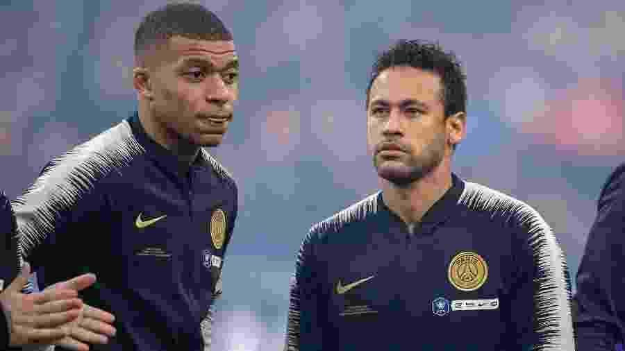 Mbappé quer receber tratamento e salário semelhante ao de Neymar no PSG - Tim Clayton - Corbis / Colaborador