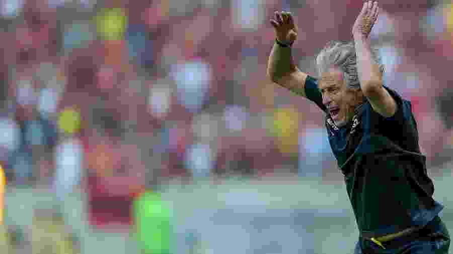 Jorge Jesus chegou ao Flamengo durante a pausa da Copa América - Thiago Ribeiro/AGIF