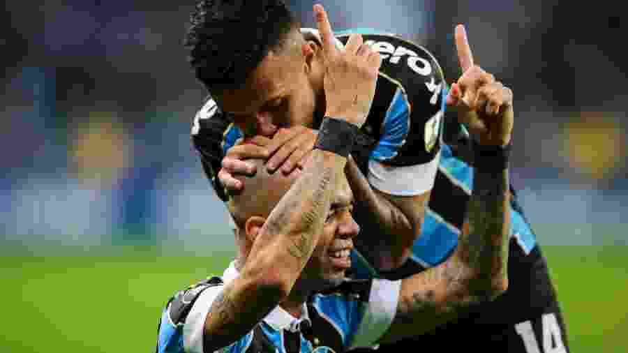 O Grêmio pode terminar a temporada sem perder para o Inter e mantém invencibilidade na Arena -  Pedro H. Tesch/AGIF