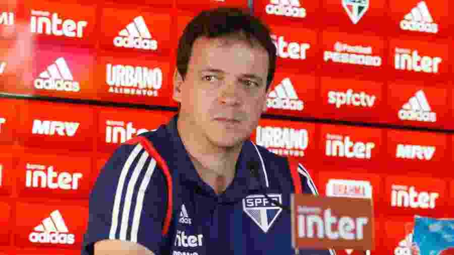 Fernando Diniz é apresentado como técnico do São Paulo - Rubens Cavallari/Folhapress