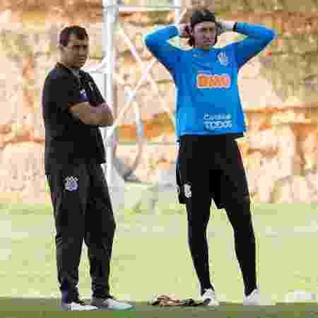 Ao contrário do treinador, goleiro acha que o time merece, sim, estar no G4 - Daniel Augusto Jr./Agência Corinthians