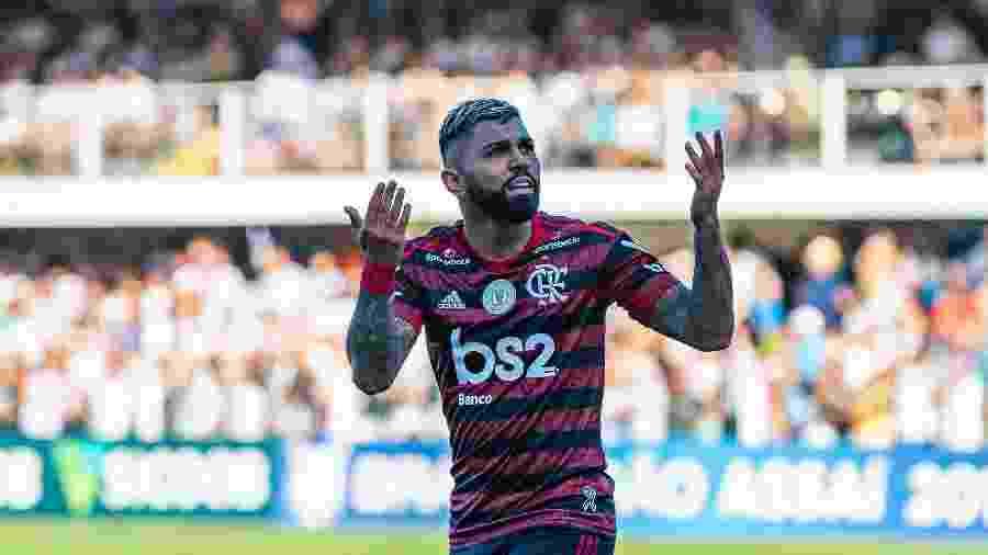 Gabigol foi um dos grandes nomes do Flamengo em 2019, mas permanência ainda é incógnita - RICHARD CALLIS/FOTOARENA/ESTADÃO CONTEÚDO