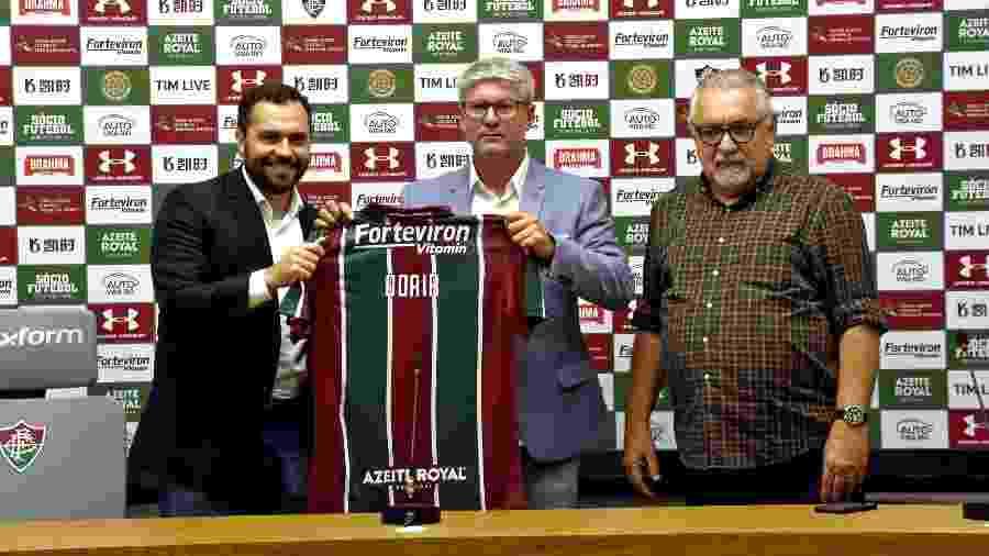 Primeira movimentação no mercado da bola, Odair Hellmann é o novo técnico do Fluminense - Mailson Santana/Fluminense FC