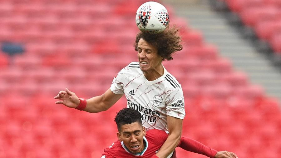 David Luiz jogou a Série C pelo Vitória; Roberto Firmino defendeu o Figueirense na Série B - Justin Tallis/ pool via Getty Images