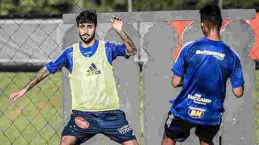 Patrick Brey volta a ter oportunidade no Cruzeiro e quer ganhar espaço com Felipão - Gustavo Aleixo/Cruzeiro