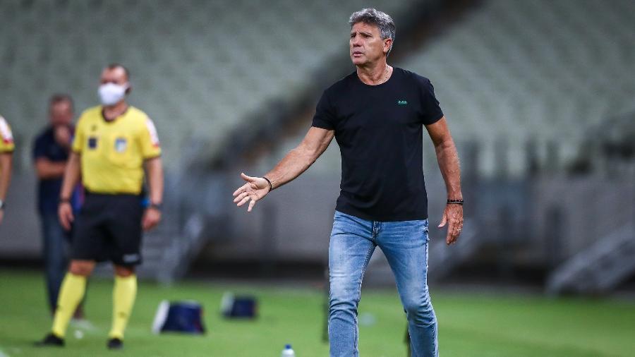 Renato Gaúcho é uma das opções do Galo para uma eventual saída de Sampaoli, que deseja ir ao Olympique de Marselha, da França - Lucas Uebel/Grêmio FBPA