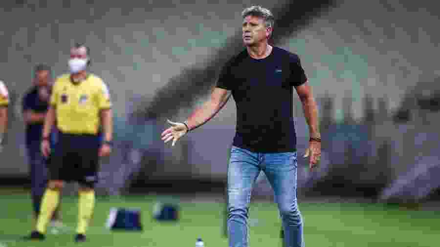 """Grêmio nunca teve tão poucas derrotas no Brasileirão na atual """"era Renato Gaúcho"""", mas acumula empates demais - Lucas Uebel/Grêmio FBPA"""