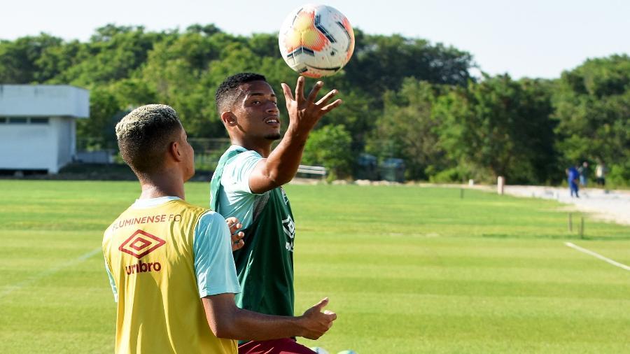Miguel e Marcos Paulo serão titulares do Fluminense contra o Resende pelo Carioca - Lucas Merçon/Fluminense FC