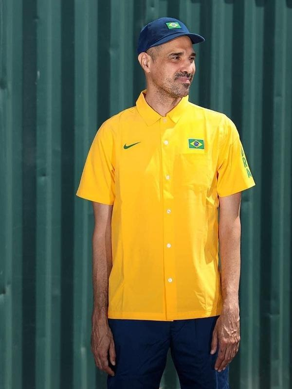 Uniforme Skate Brasil para as Olimpíadas de 2020