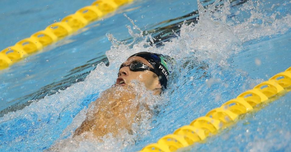 Recordista Pan-Americano, Thiago se classificou para a final dos 400m medley com a quarta melhor marca