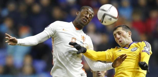 Wijnaldum - que fez gol contra o Brasil na Copa do Mundo - abriu o placar para a Holanda
