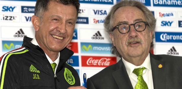 Osorio assumiu o comando da seleção mexicana em outubro passado