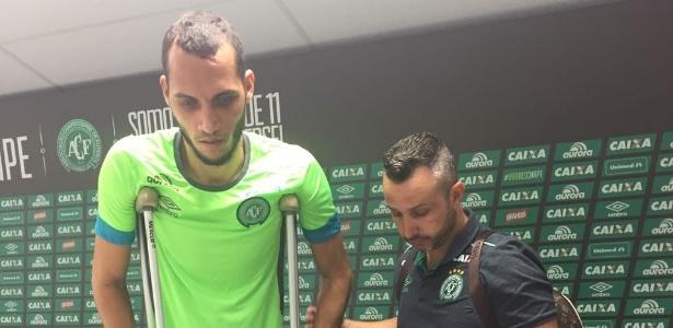 Neto concedeu entrevista coletiva após sessão fisioterápica nesta terça (10)