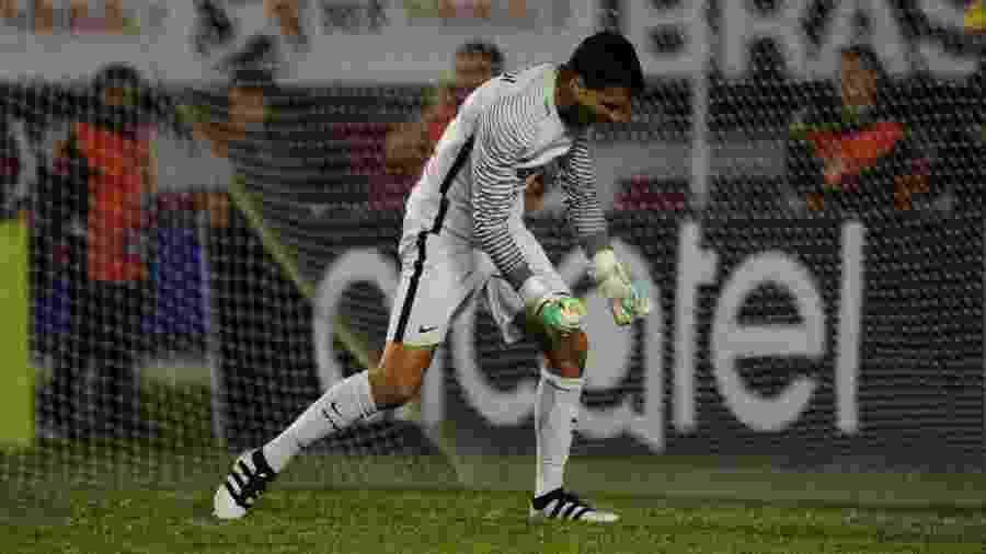 Goleiro Keiller, do Internacional, renovou contrato por mais três anos com o clube - Ricardo Duarte/Inter