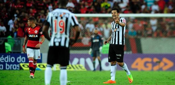 Fred não fez gol contra o Flamengo, mas deu o passe para o gol de Elias
