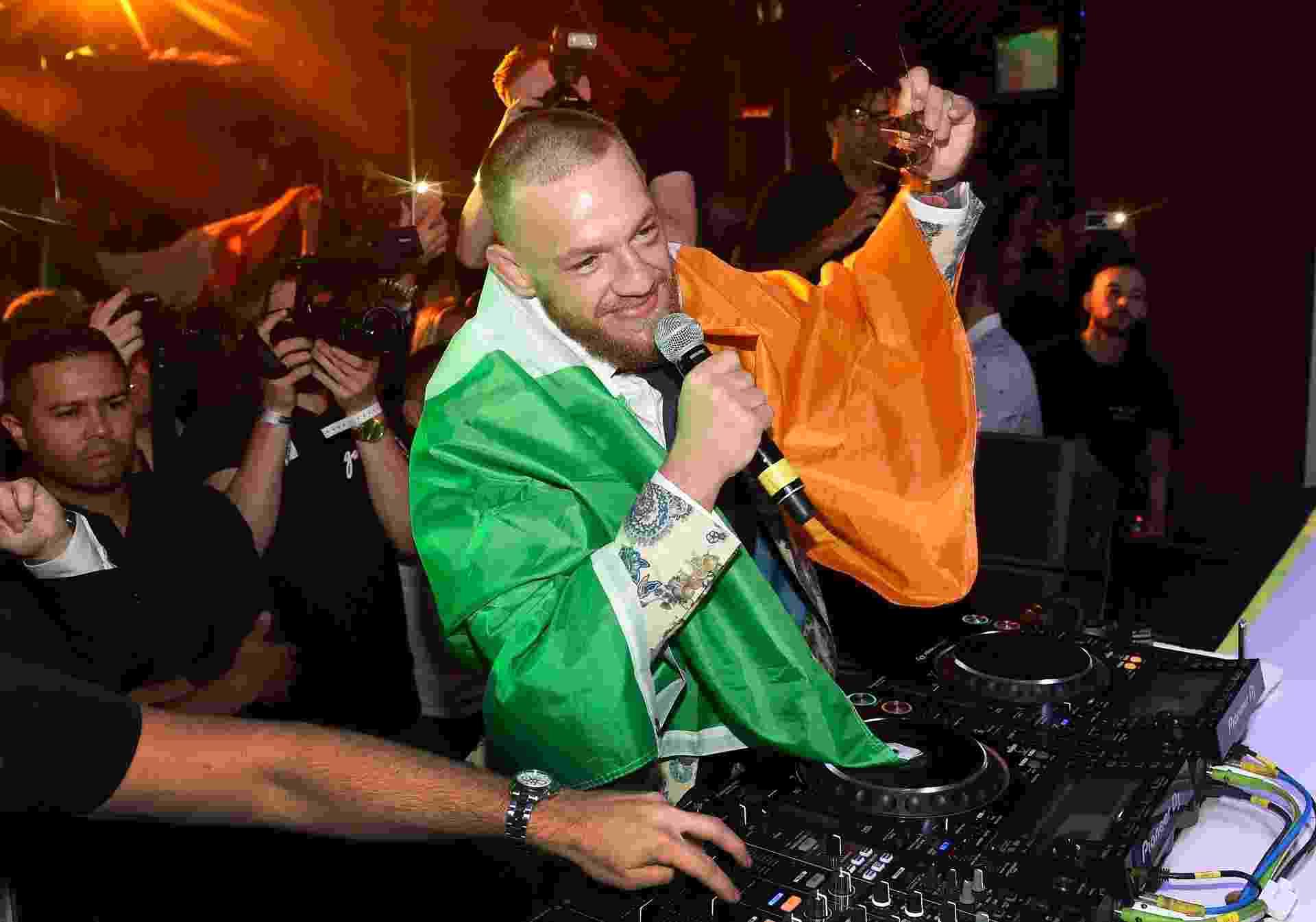 Conor McGregor celebra em balada em Las Vegas após luta contra Floyd Mayweather - Getty Images