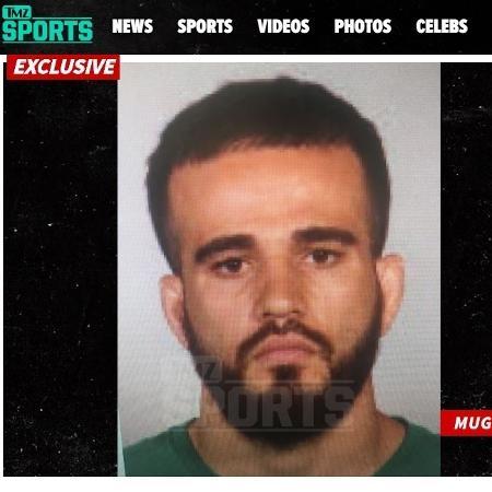 Sergio da Silva, lutador do Bellator, foi preso - Reprodução/TMZ