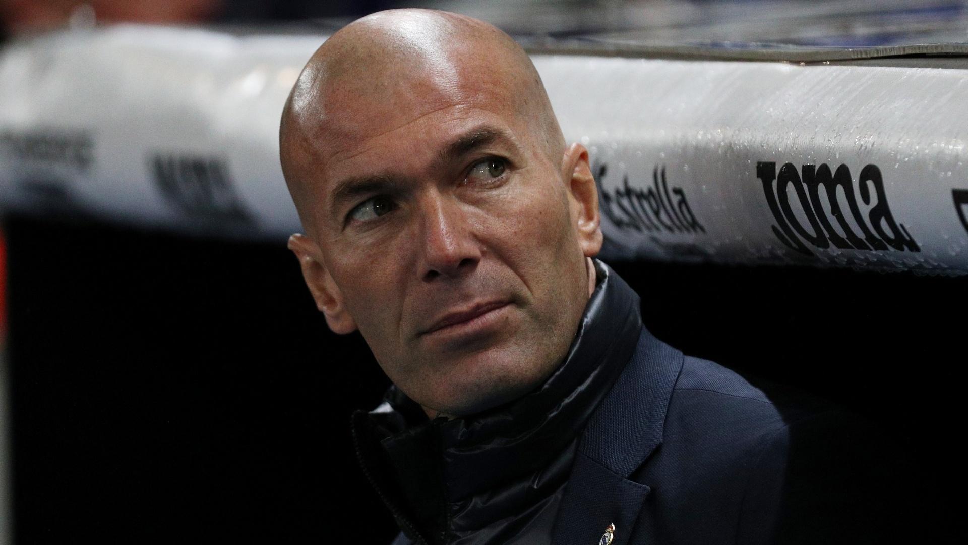 Zidane comanda o Real Madrid contra o Espanyol