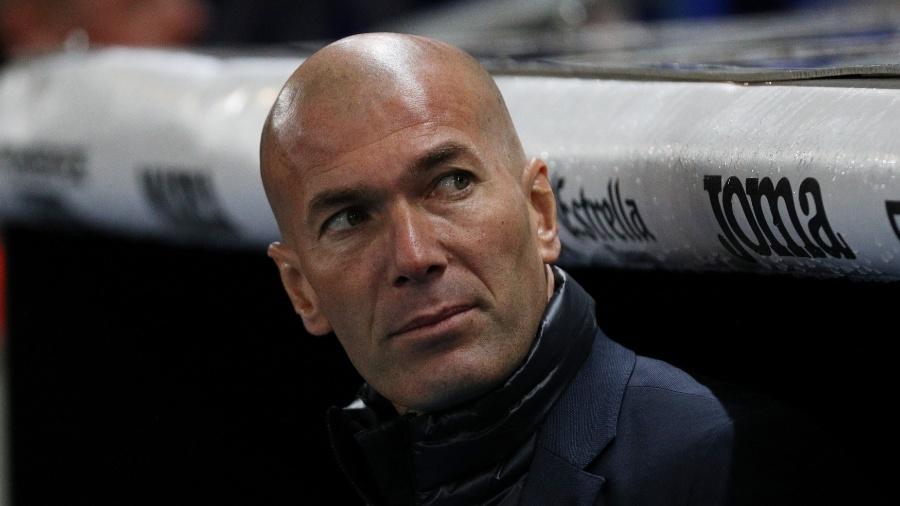 Zidane comanda o Real Madrid contra o Espanyol - SERGIO PEREZ/REUTERS