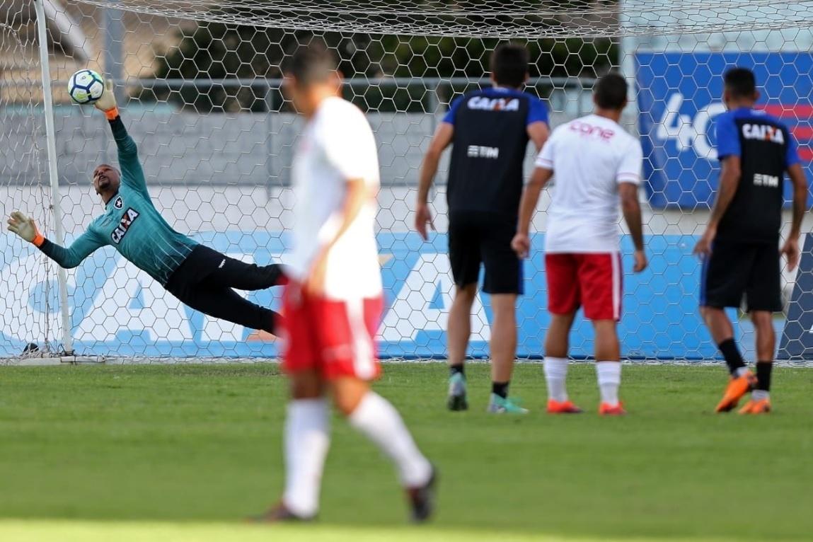 b039d0e517 Botafogo encara Fla sem João Paulo e Kieza