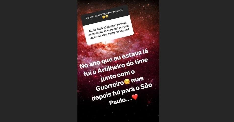 Pato rebate torcedor sobre passagem pelo Corinthians: ?Fui artilheiro?