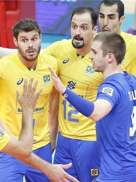 Brasil passou em sets diretos pela Austrália e começou bem a segunda fase do Mundial de Vôlei - Divulgação/FIVB