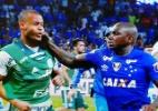 STJD aumenta pena de Sassá para oito jogos por confusão na Copa do Brasil - Reprodução de TV/ Fox Sports