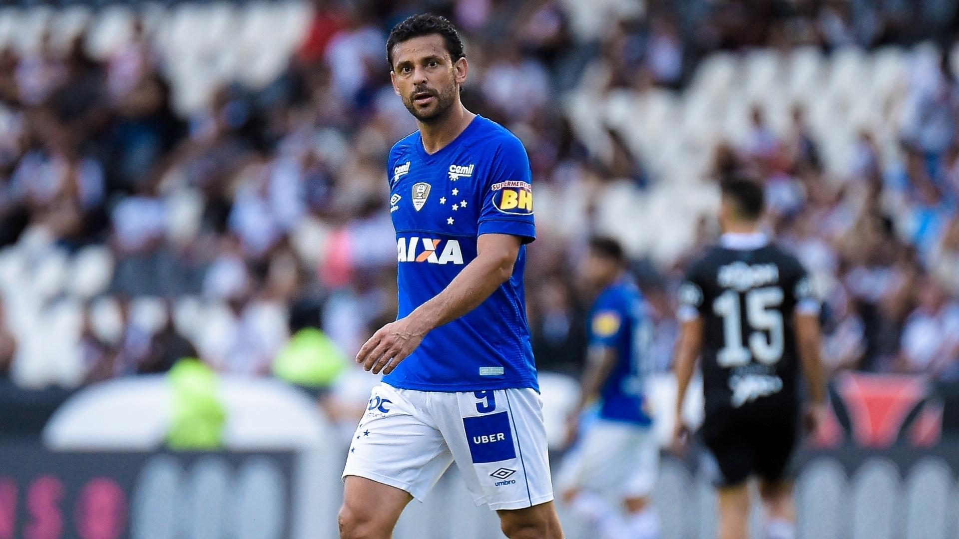 Recuperado de lesão no joelho, Fred volta a ser titular no Cruzeiro após seis meses