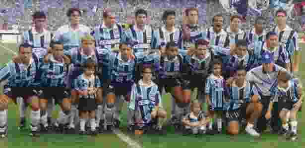 Grêmio de 1996, campeão brasileiro e semifinalista da Libertadores - Reprodução - Reprodução