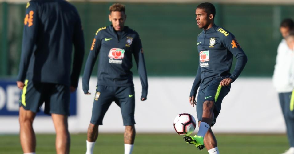 Douglas Costa Neymar Seleção brasileira