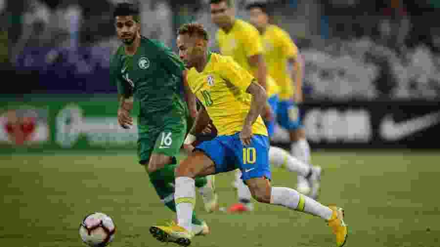 Neymar e a seleção brasileira podem disputar amistoso no Qatar em março de 2019. CBF estuda convite do governo local - Pedro Martins/Mowa Press