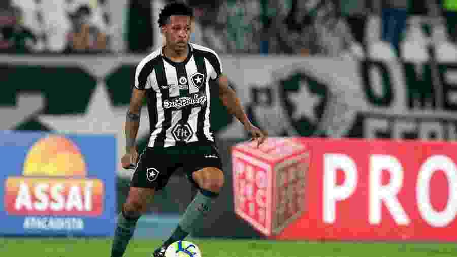 Gustavo Bochecha era uma das principais apostas do time alternativo, mas não foi bem e deve ser emprestado - Vitor Silva/Botafogo