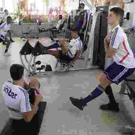 São Paulo treina em Fortaleza - Rubens Chiri / saopaulofc.net