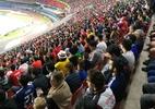 """Com metade do público, Chile se sente """"mais em casa"""" em SP do que o Brasil - Diego Salgado/UOL Esporte"""