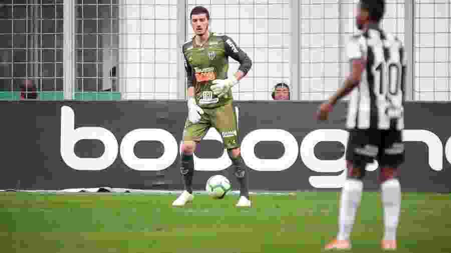 Cleiton, goleiro do Atlético-MG, é valorizado pela diretoria e deve renovar contrato - Bruno Cantini/Divulgação/Atlético-MG