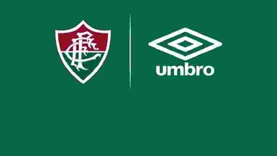 Fluminense assinou contrato de três anos com a Umbro - Divulgação/Fluminense