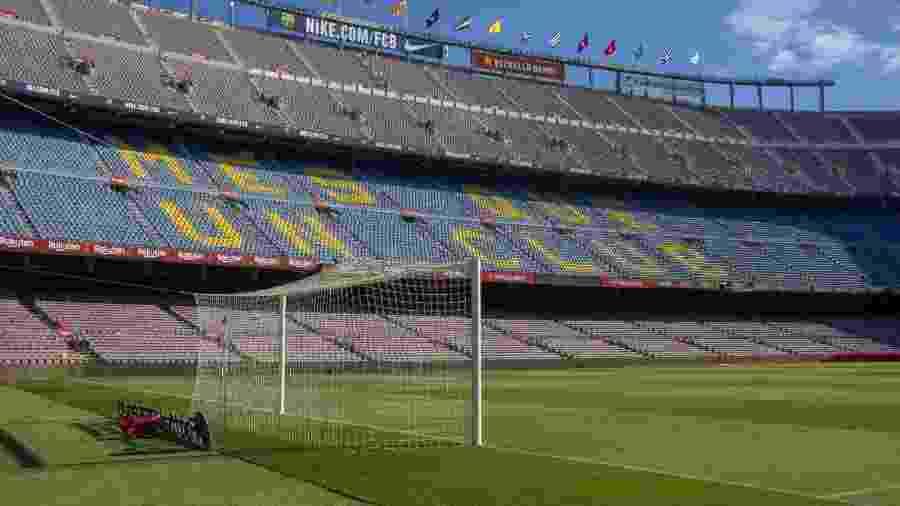 Camp Nou, estádio do Barcelona - Tim Clayton/Corbis via Getty Images