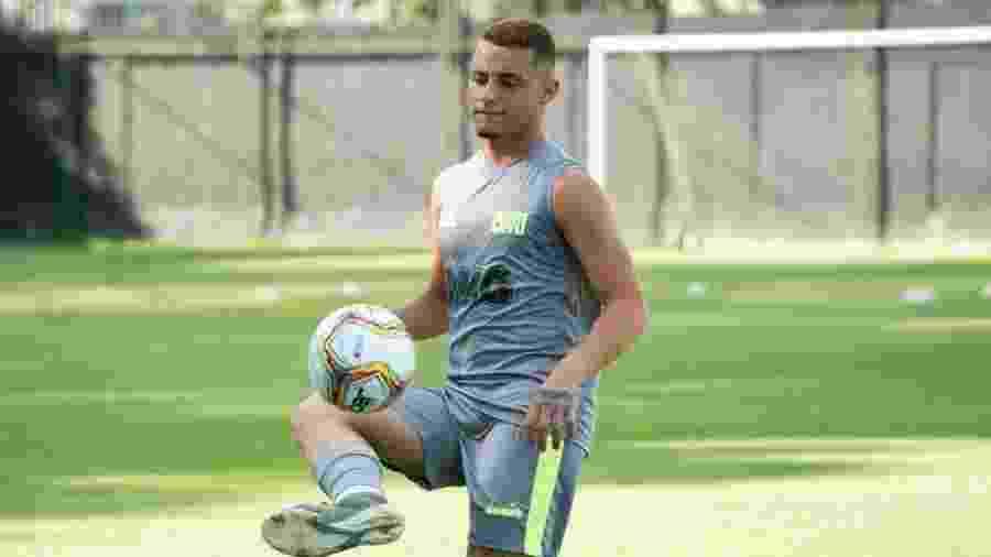 Volante Bruno Gomes, de 18 anos, virou xodó do técnico Abel Braga no Vasco da Gama - Carlos Gregório / Vasco