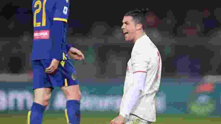 Cristiano Ronaldo foi alvo de críticas de um ex-presidente da Juventus, da Itália - Reuters