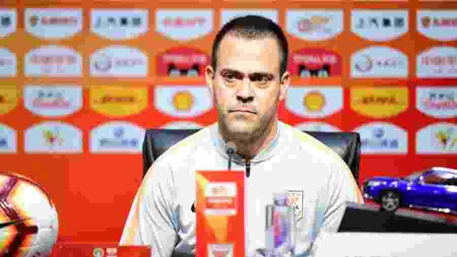 Fábio Lefundes foi treinador do Shandong Luneng por dois anos - Divulgação/Shandong Luneng