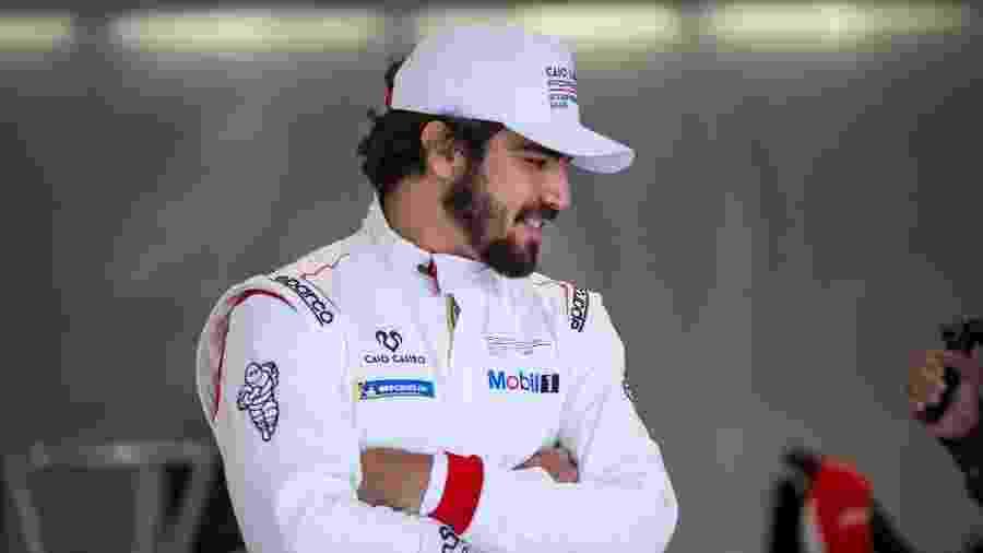 Caio Castro como piloto da Porsche Cup - Ryan Gomes