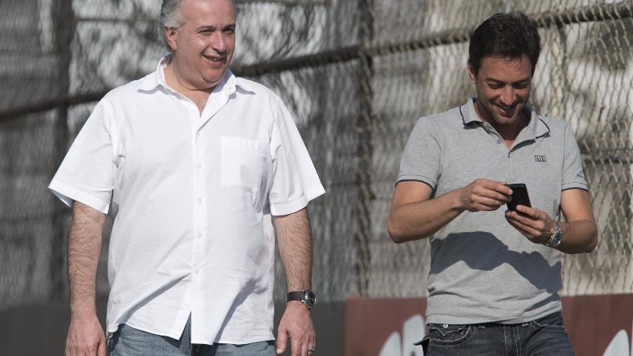 Roberto de Andrade e Duílio Monteiro Alves, presidente eleito, possuem ótima relação - Daniel Augusto Jr/Ag. Corinthians